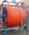 HYDRAULIC HOSE REEL COMPLETE WITH WHIP