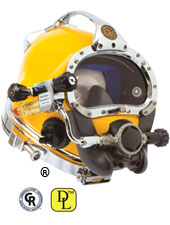 KM DIVE HELMET 57 W/MWP (COMPLETE UNIT DISCONTINUED.  SPARE PARTS STILL AVAILABLE)